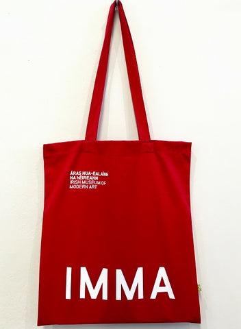 IMMA Tote Bag (Red)