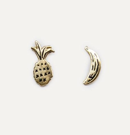 Fruit Earrings by Katy Welsh
