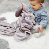Kitty Cat Soft Fleece Baby Blanket