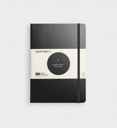 Bauhaus 100 Years Limited Edition Notebook - Black