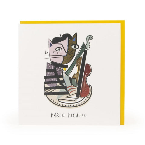 Pablo Picatso Greeting Card