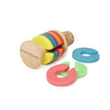 Rainbow Drink Markers & Bottle Stopper