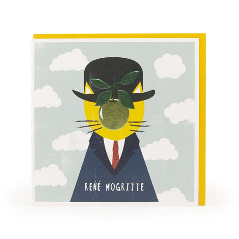René Mogritte Greeting Card