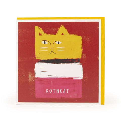 Rothkat Greeting Card