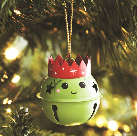 Brussels Sprout Hanging Bell Decoration