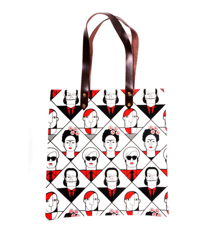 Great Modern Artists Red & Black Tote