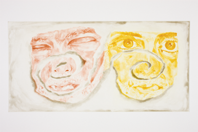 Francesco Clemente, Celtic Self-Portrait (2003)