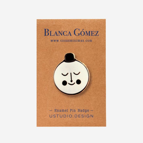 Blanca Gomez Moon Pin