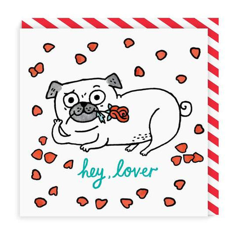 Hey Lover Greeting Card