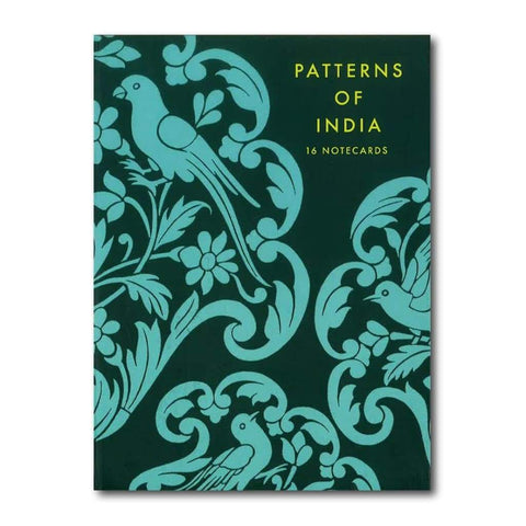 Patterns of India: 16 Note Cards