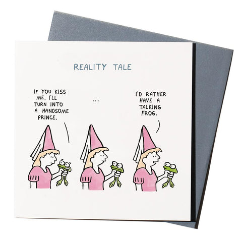 Reality Tale Greeting Card