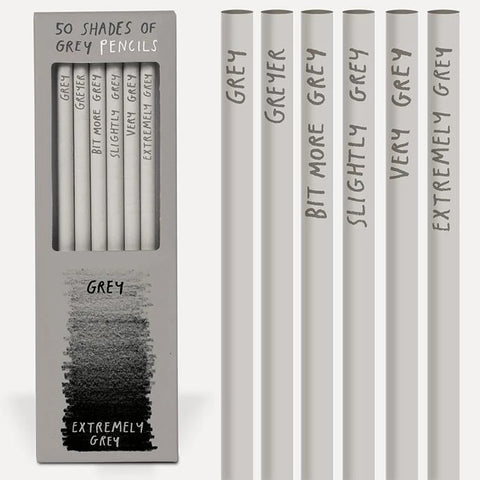 50 Shades of Grey Pencils