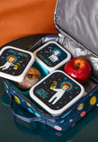 Space Explorer Lunch Box Set of 3
