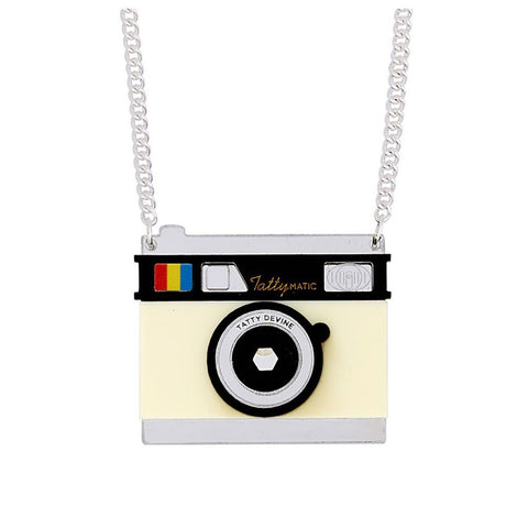 Camera Necklace  Tatty Devine
