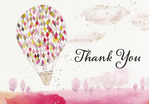 Lighter Than Air Thank You Note Greeting Card