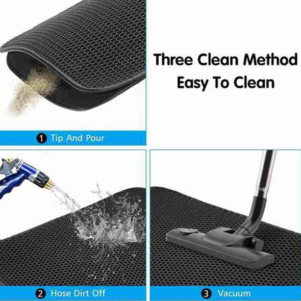 2020 New Double Layer Cat Litter Mat