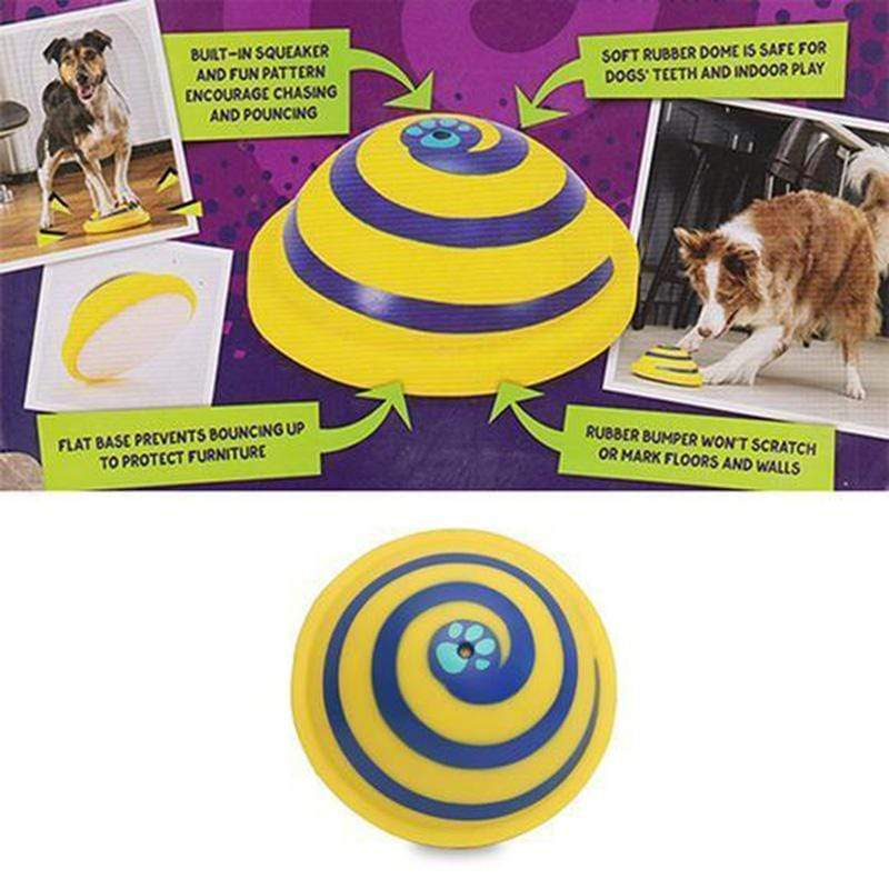 🔥50% OFF🔥lndoor Gliding Squeaky Dog Toy