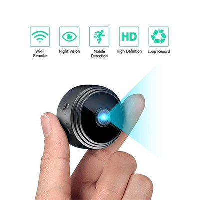 Wireless Wifi Camera With Sensori Night Vision