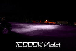 12000K (Violet Purple Color) HID Kit