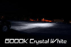6000K (Crystal White) HID Kit