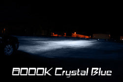 8000K (Crystal Blue Color) HID Kit