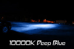 10000K (Deep Blue Color) HID Kit