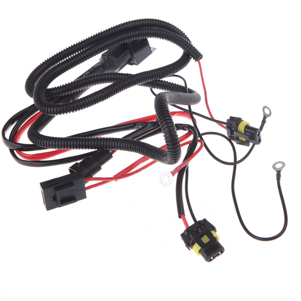 HID Xenon Kit Single Beam Relay Wiring Harness Cable