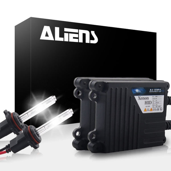 Aliens ONEX 35W 6000K Crystal White HID XENON Headlight Conversion Kit