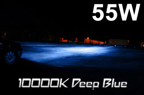 Aliens ONEX 55W 10000K Deep Blue HID XENON Headlight Conversion Kit