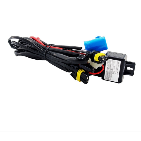 9004 / 9007 HID Xenon Kit Bi-Xenon Relay Wiring Harness Cable
