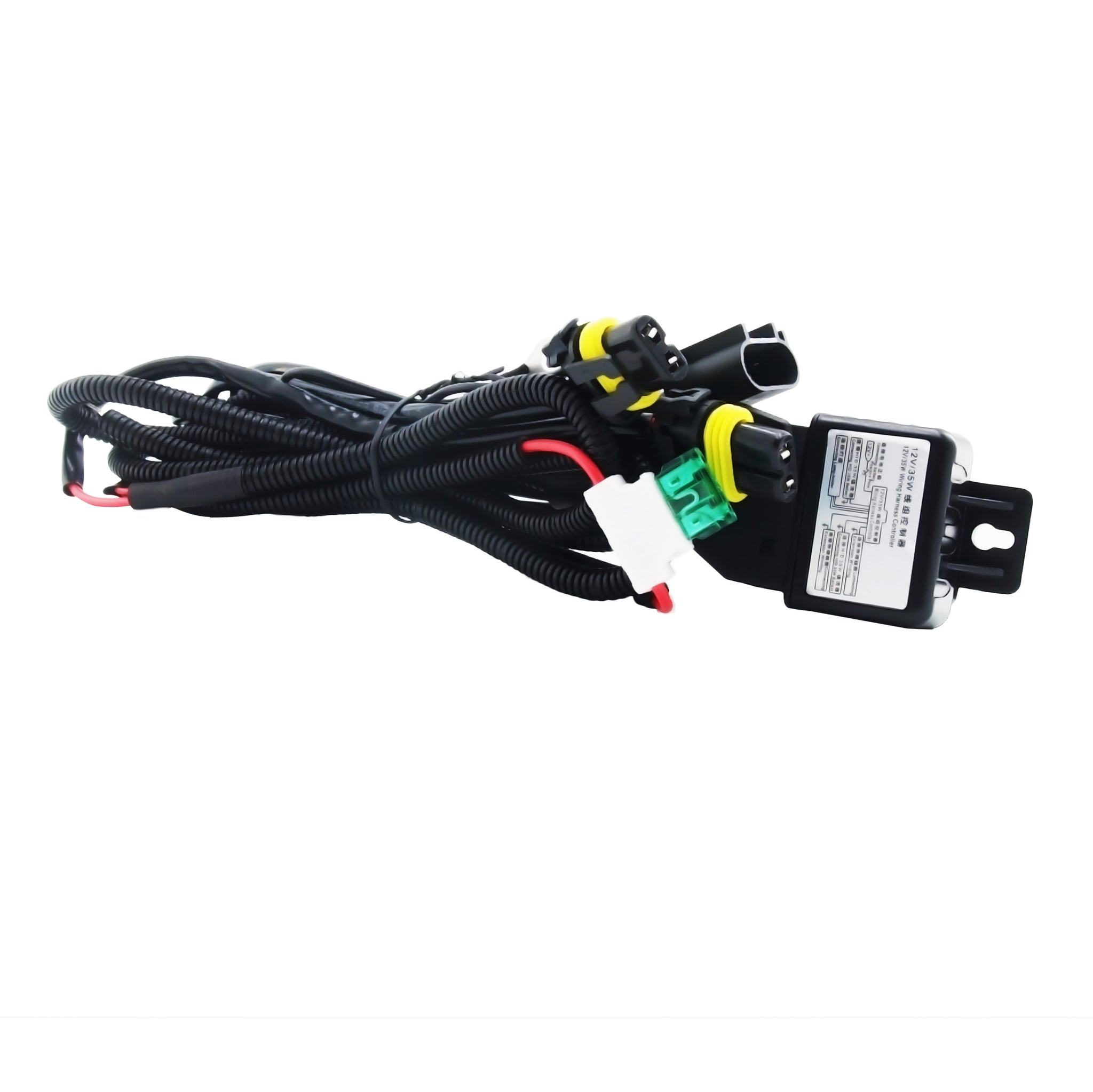 H13 / 9008 HID Xenon Kit Bi-Xenon Relay Wiring Harness Cable