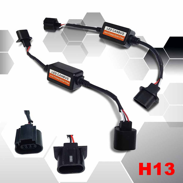 LED Headlight CanBUS Warning Canceller Harness Adapters