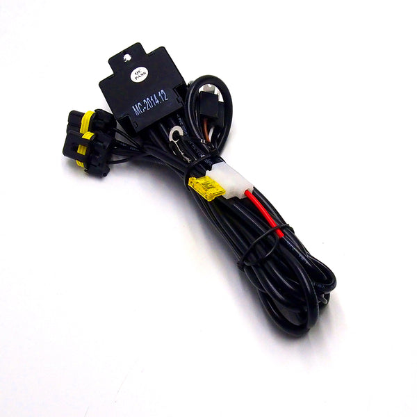 H4 / 9003 HID Xenon Kit Bi-Xenon Relay Wiring Harness Cable