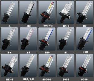 Xenon HID Kit Replacement Bulbs