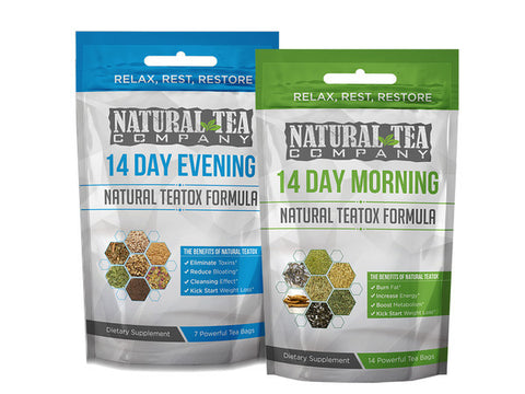 14 Day Natural Teatox Starter Combo Pack