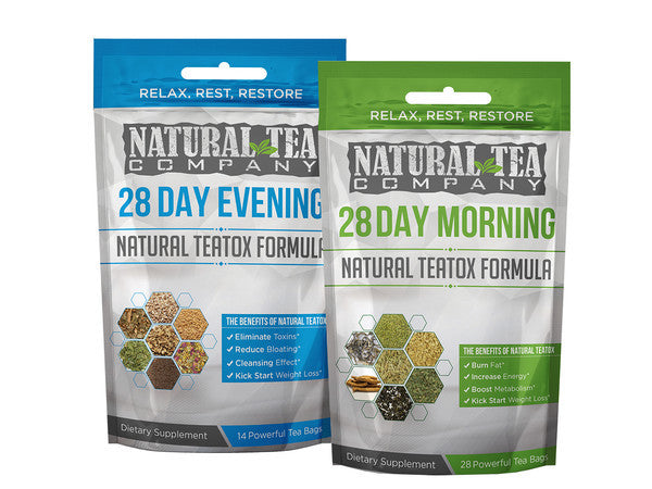 28 Day Natural Teatox Combo Pack