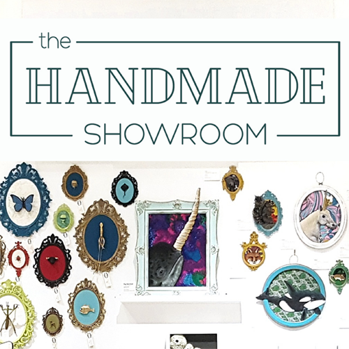 Welcome to The Handmade Showroom's NEW Website!