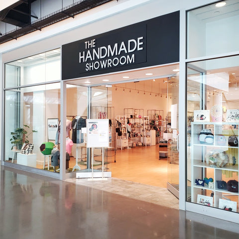 The Handmade Showroom open now on the 3rd floor at Pacific Place Seattle