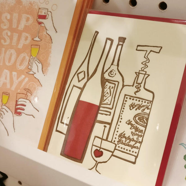 Drinks Card by Ilee Papergoods of Seattle, WA