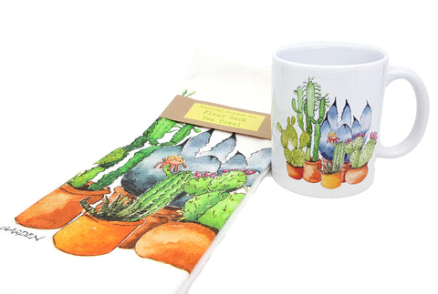 Chavah's Garden tea towels