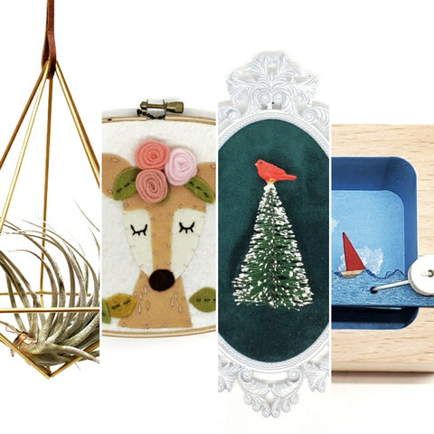 Featured items by Hemleva, Catshy Crafts, Deviant Decor, Make Waves