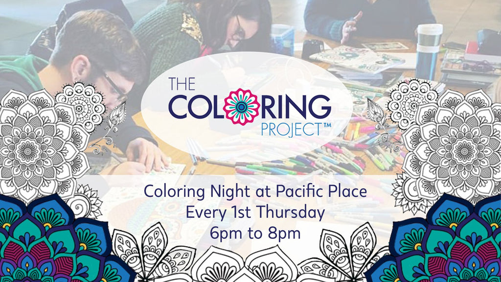 The Handmade Showroom The Coloring Project Event