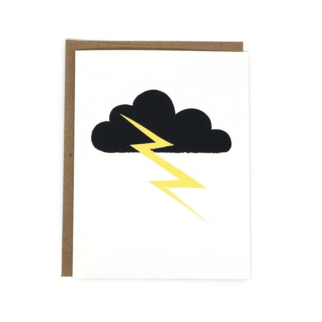 Card - Thundercloud by Orange Twist