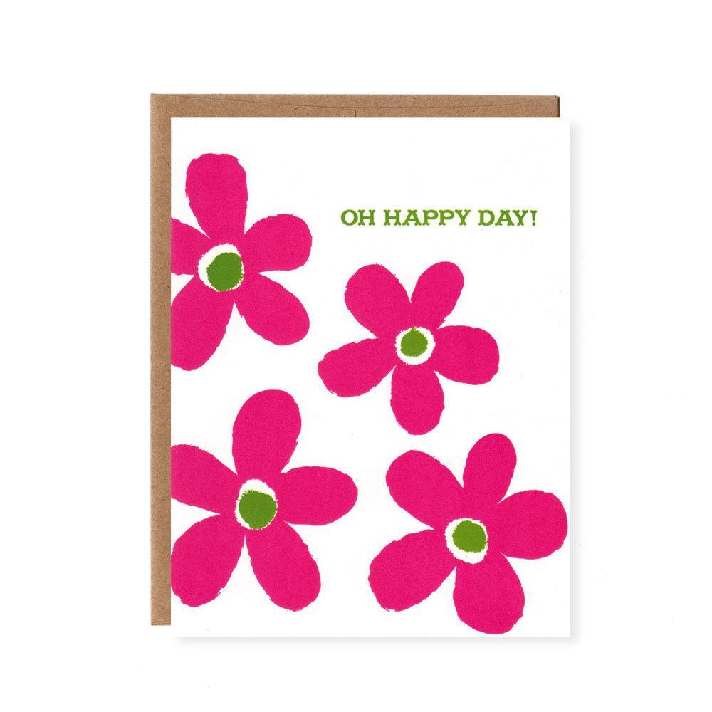 Card - Oh Happy Day by Orange Twist