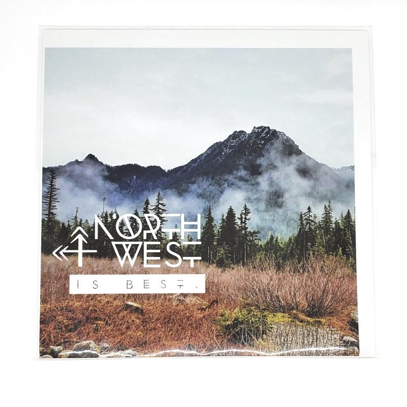 Art Print - 8x8 - Northwest is Best (Ice Caves) by Michaela Rose