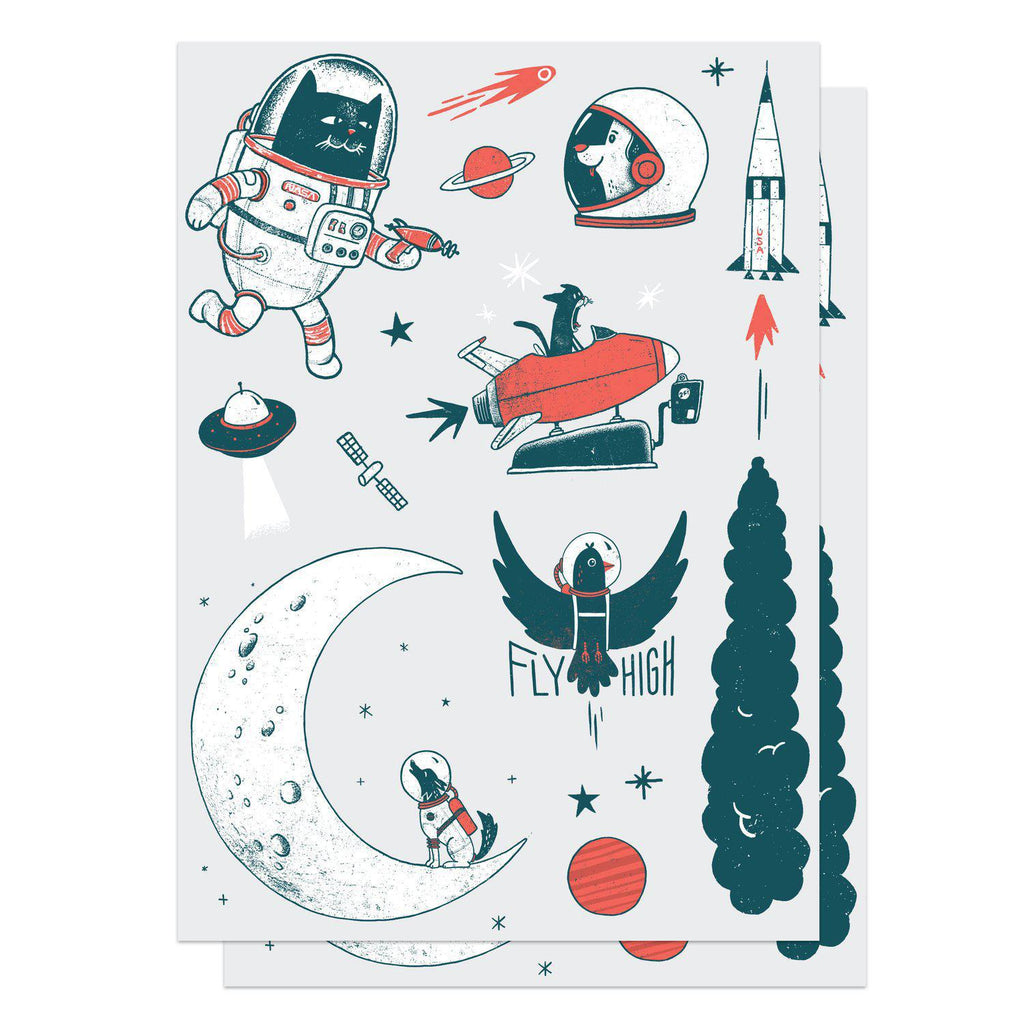 Temporary Tattoos - Space Ink Set by Factory 43