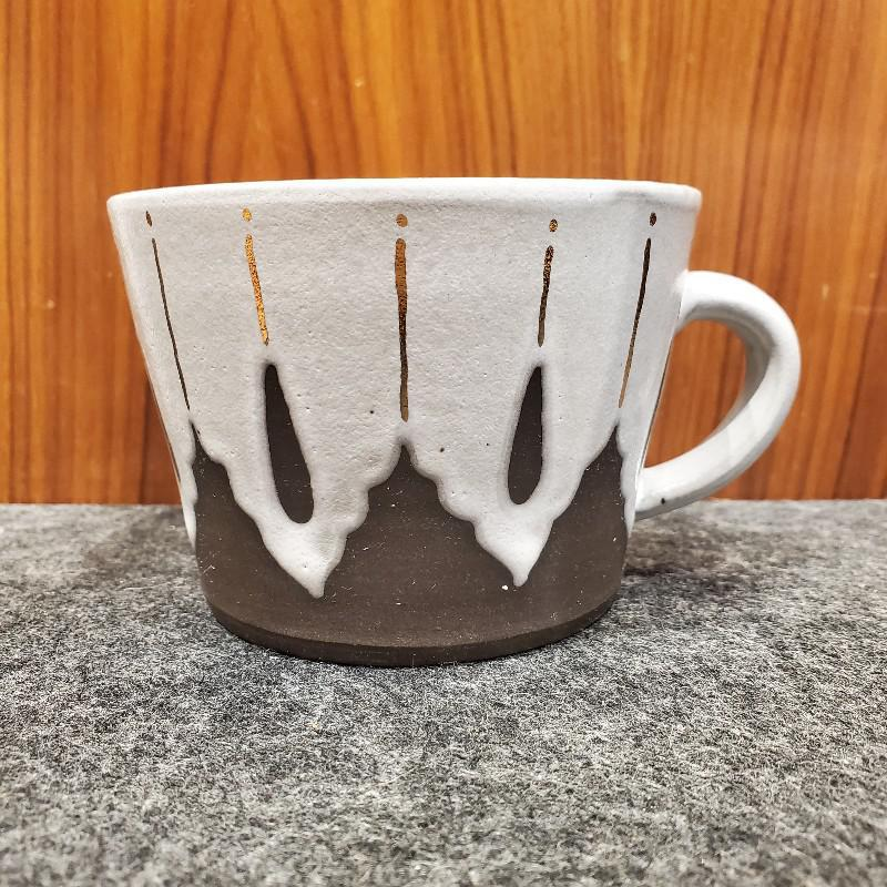 Cup - Small Coffee IV 10oz by Victoria Smith Ceramics