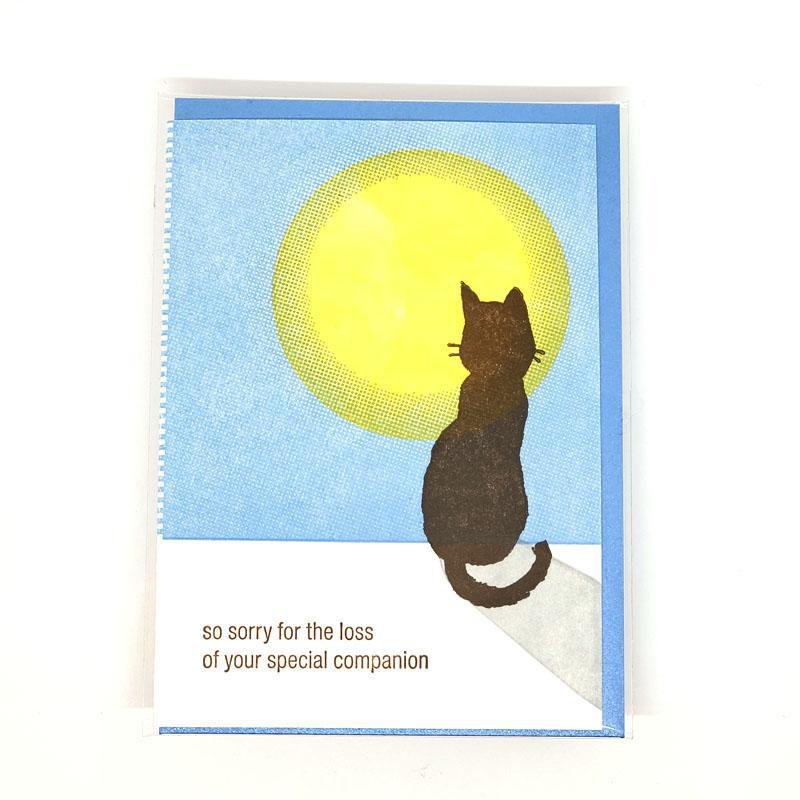 Card - Sympathy - Cat Loss by Ilee Papergoods