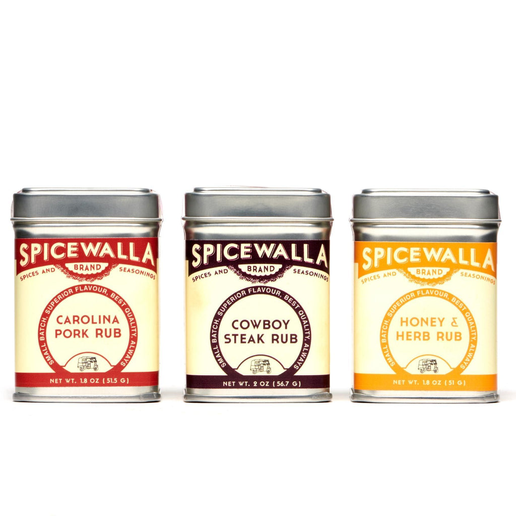 3 Pack - Grill and Roast Collection Small Tins by Spicewalla