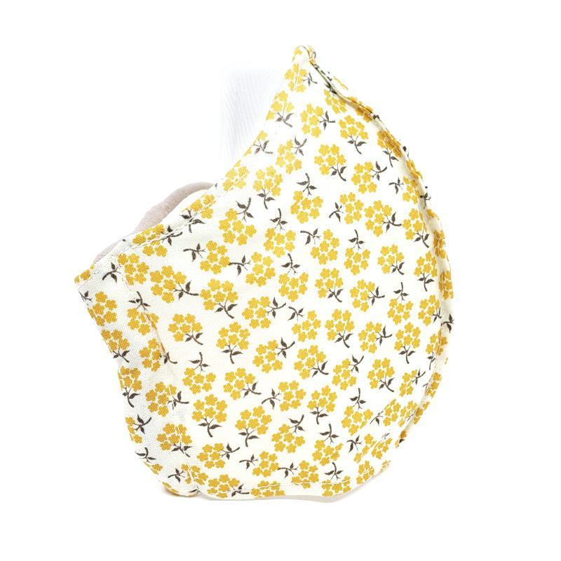 Medium - Yellow Posies White Lining by imakecutestuff